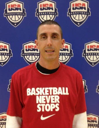 Andy Poplin, New Hickory High boys basketball coach