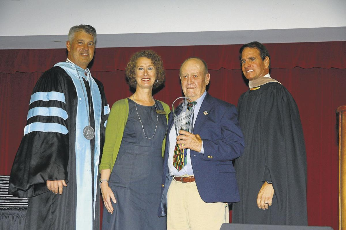 Distinguished alumni awards presented at college
