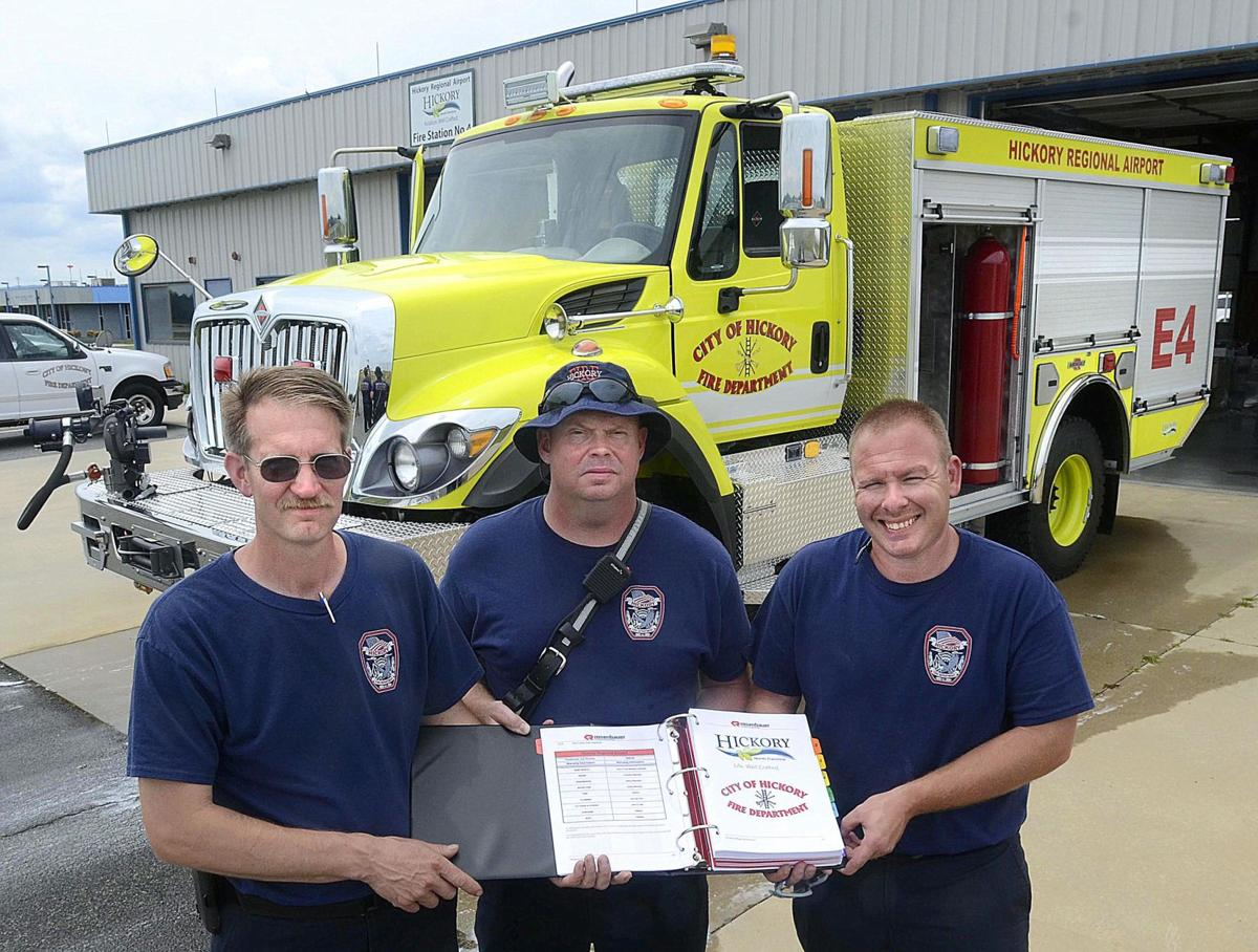 Hickory Fire Station 4 welcomes modern rig with airport