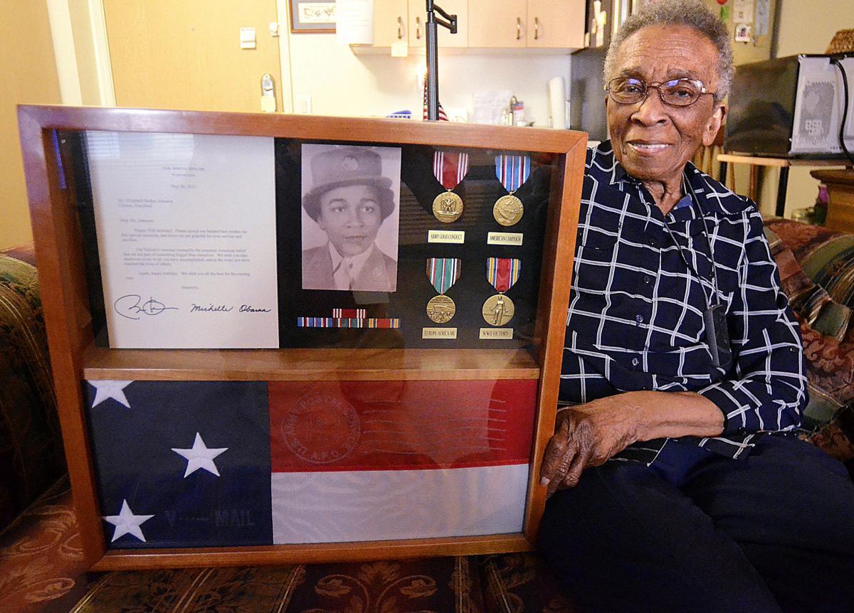 Elizabeth Johnson WWII veteran