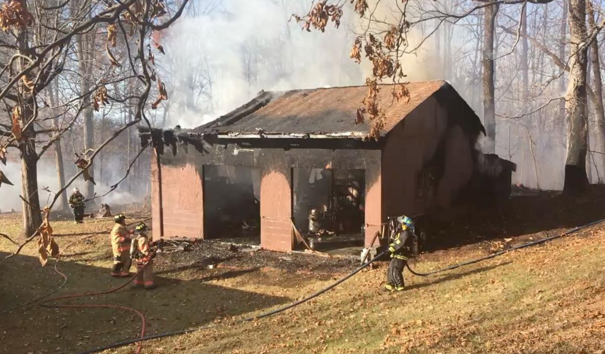 Windy Hill structure fire woman found dead