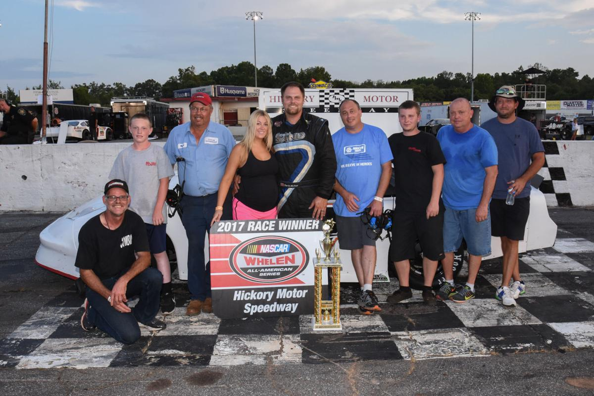 Watson sweeps twin 40-lap features at Hickory Motor Speedway