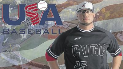 Catawba Valley Community College head baseball coach Paul Rozzelle