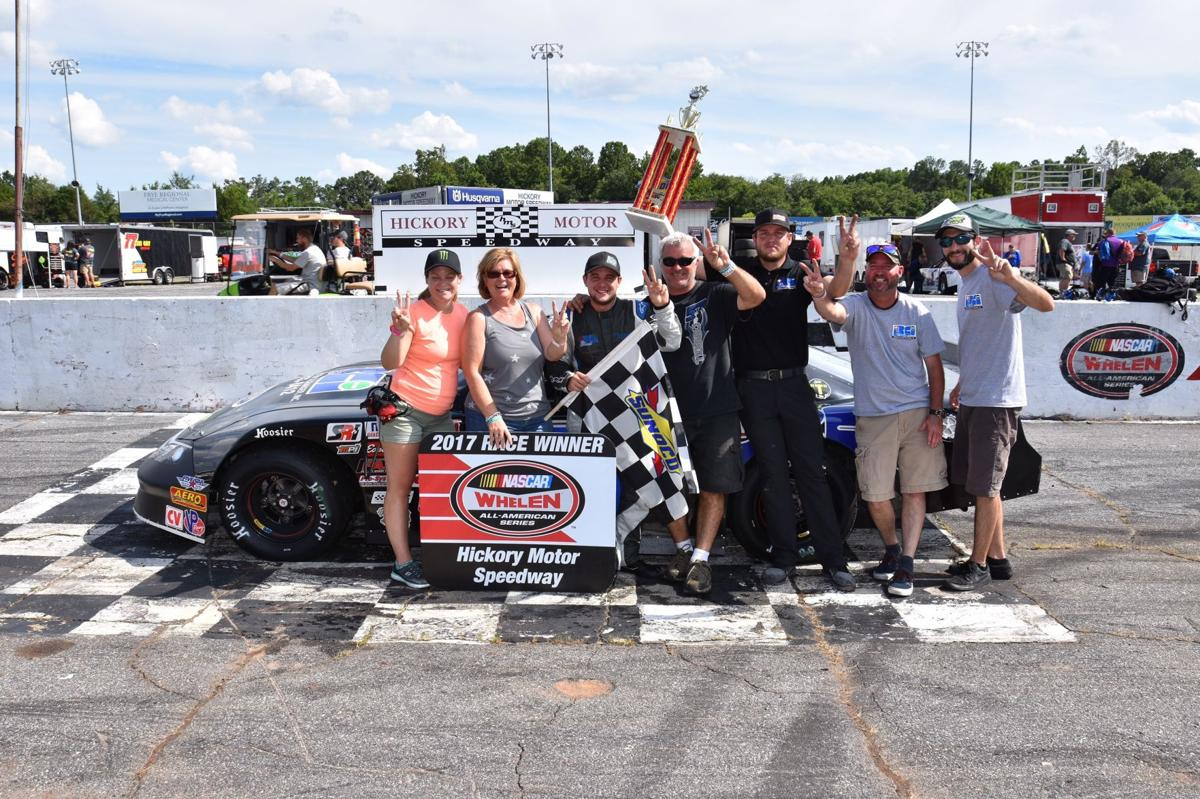 Carroll sweeps pair of Late Models races at Hickory Motor