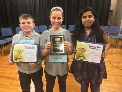 Mebane White wins Hickory Public Schools spelling bee   Local News