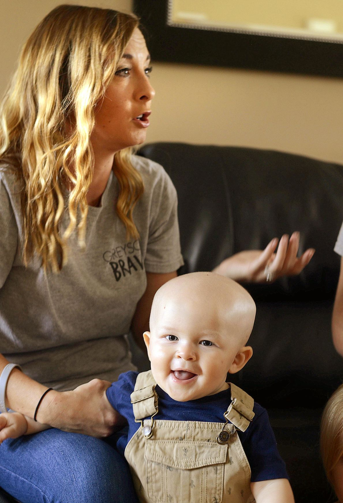 Conover 1 year old Greyson Stephens battles rare form of sar a