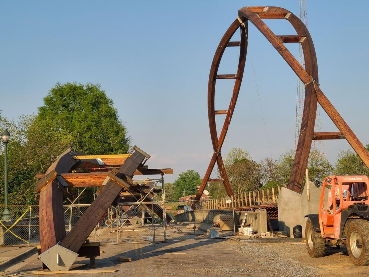 Arches Installation Halt