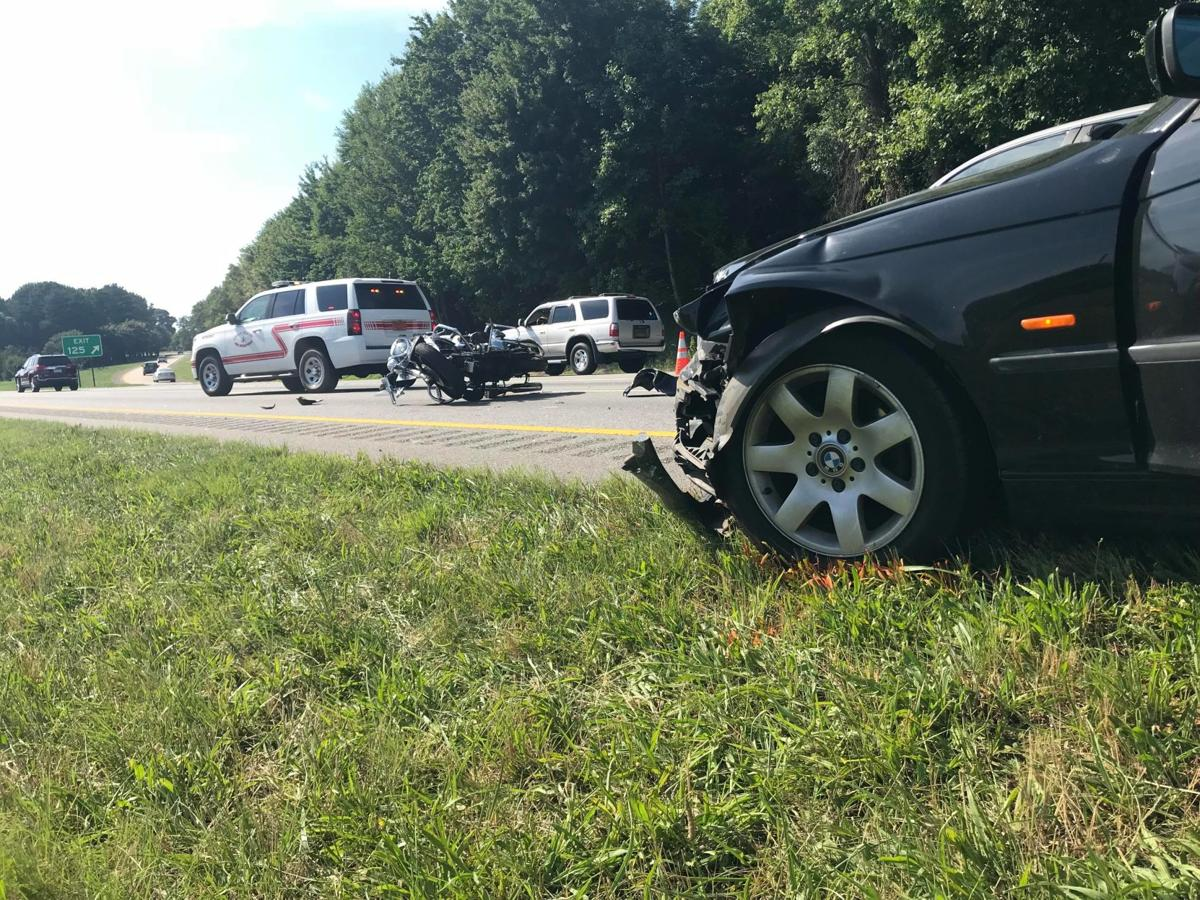 Motorcycle, two cars involved in wreck on I-40 | Local News