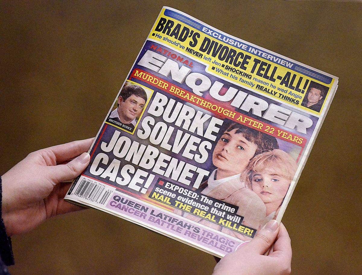JonBenet case Enquier Cover