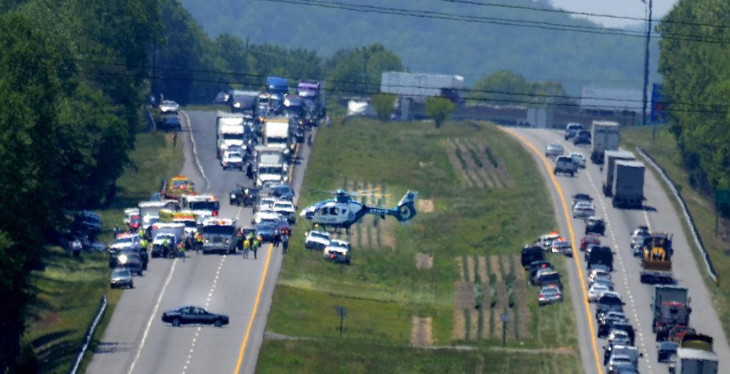 Wreck, airlift snare I-40 traffic   News   hickoryrecord com