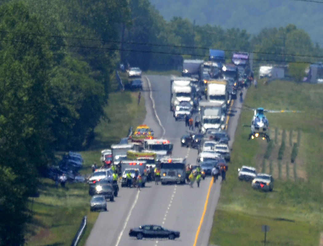 Wreck, airlift snare I-40 traffic | News | hickoryrecord com