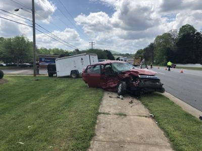 VIDEO: Two vehicles collide in head-on crash on Hwy  127