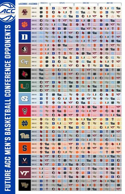 Witty image for printable acc men's basketball schedule
