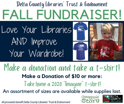 library fall fundraiser