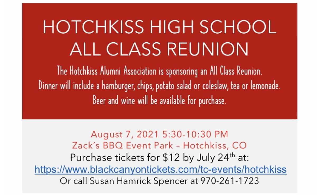 HHS all class reunion