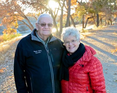 Robert and Charlotte Webb