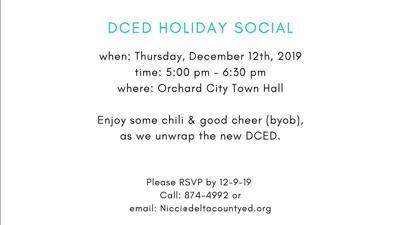 DCED Holiday Social