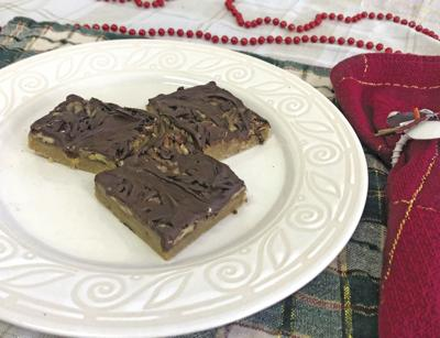Caramel 'n Chocolate  Pecan Bars