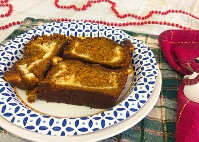 Pumpkin Apple Butter Cheesecake Bread