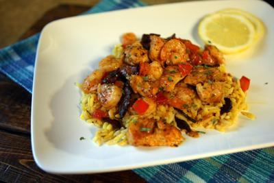 Paella stir-fry