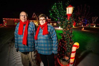 Schlichtmanns share their holiday lights showcase