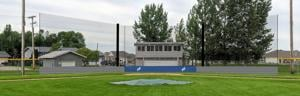 Baseball backstop update