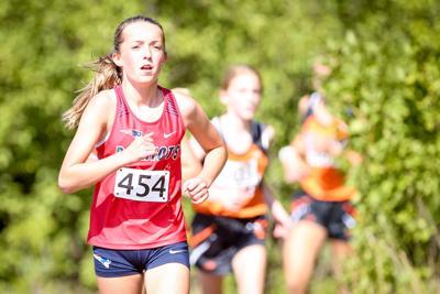 Kayla Knudsvig runs