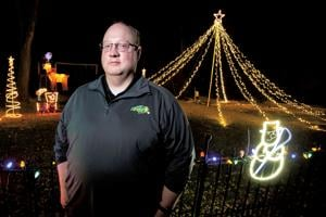 "<p class=""p1"">Hillsboro city commissioner and school vo-ag teacher Levi Reese spent eight hours decorating his yard at 701 1st Ave. N.E. in Hillsboro. Those in a festive mood can drive by and listen to 93.3 FM for his lights choreographed to Christmas music.</p>"