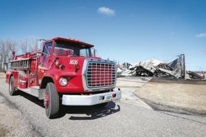 Fire destroys rural Buxton hangar, planes