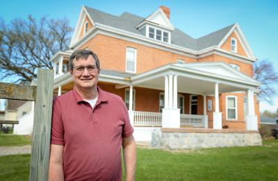 John Wright and the Plummer House