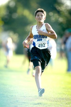 Christian Brist runs