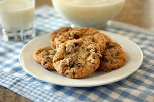 Oatmeal-chocolate chunk cookies