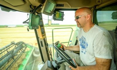 Cody Kritzberger farming