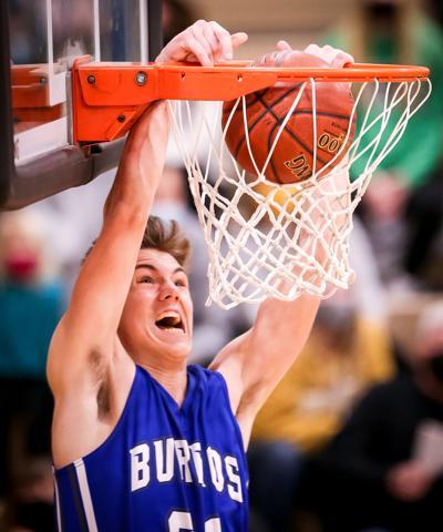 Sam Preston dunk