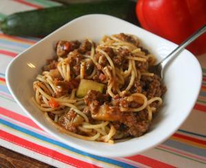 Garden veggie spaghetti