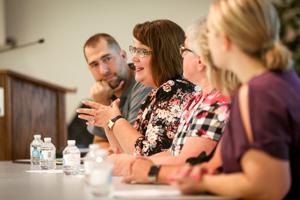 Agassiz Valley Social Services Director Kim Jacobson