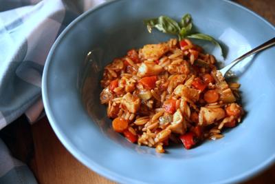 Italian chicken & orzo