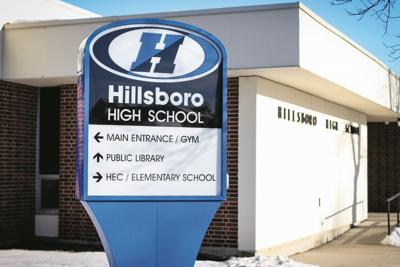 Hillsboro High School sign