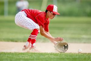 Cole Kritzberger fields a ball