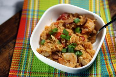 Instant Pot (or slow cooker) jambalaya