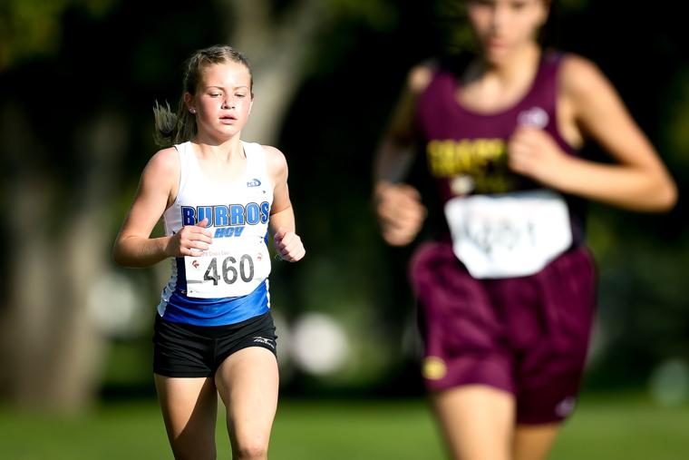 Mallory Alfson runs