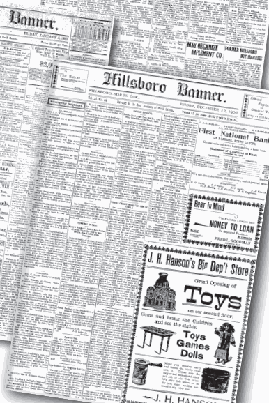 Archived editions of the Banner