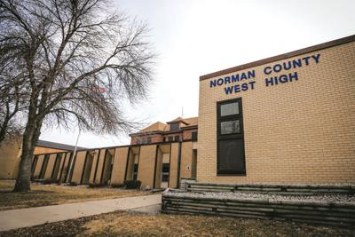 Norman County West High School building