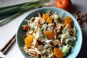 Chicken & mandarin orange salad