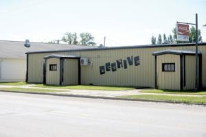 The former Beehive building