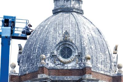 Courthouse dome repair