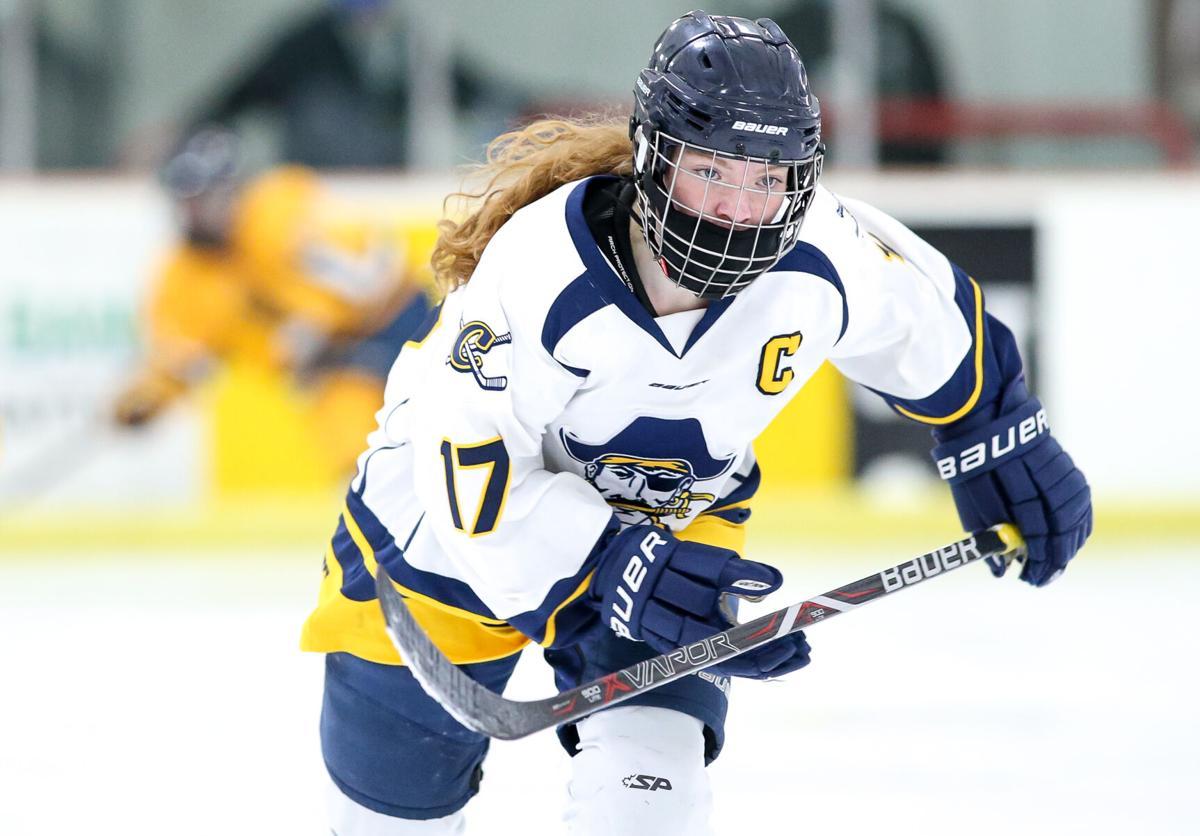 Nora Peterson skates