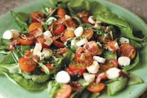 Caprese chopped salad