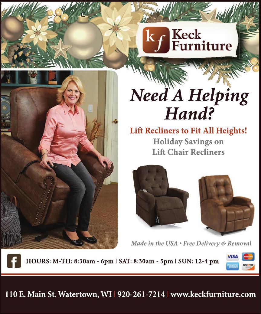 Keck Furniture Helping Hand