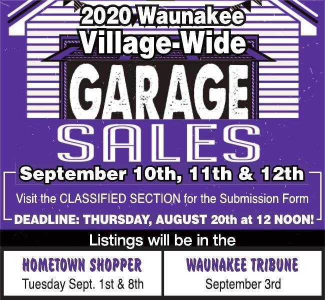 Waunakee Village Wide Garage Sale